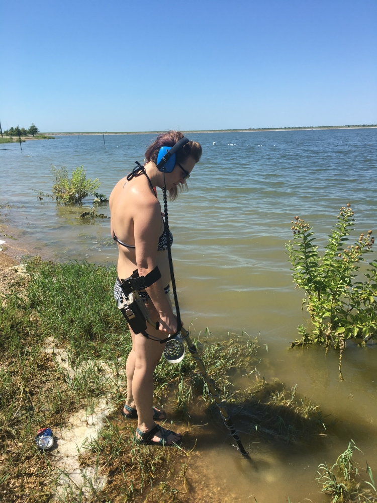 Metal Detecting Water
