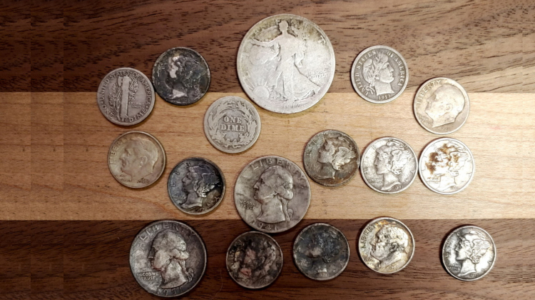 Tips Cleaning Silver Coins Metal Detecting