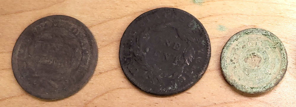 Cleaning Old Coins Metal Detecting